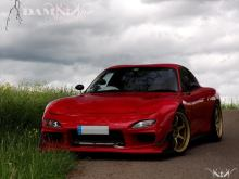 DAMN Motorsports Mazda RX7 FD3S Rotary wankel Engine twin turbo power crew