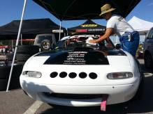 Mazda Mx5 Miata Rotary engine drift spain Open Slalom Drift