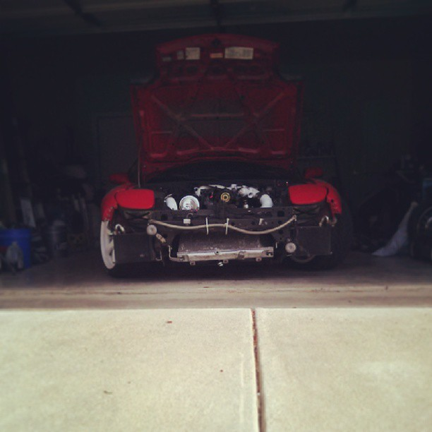 mazda rx7 fd3s jadm rays gram lights 57 twin turbo texas