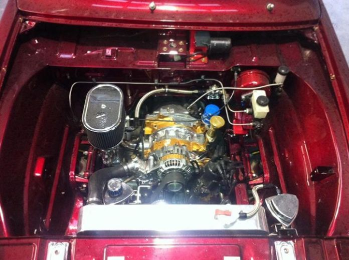 Mazda rotary engine pick up