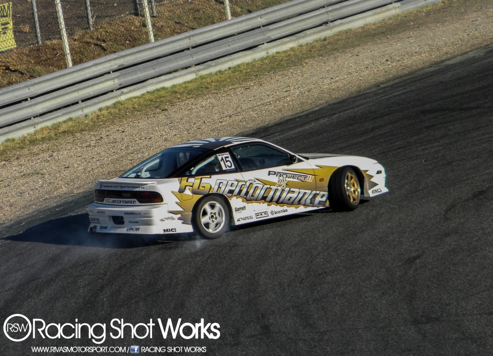 Joan Caballer Nissan S13 drift in jarama circuit madrid