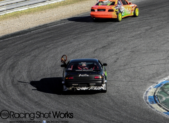 "Nissan s14a Atila and Bmw from ""el gallo"" drift in jarama circuit madrid"