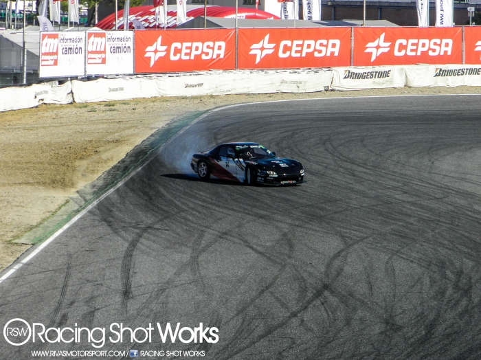 Fran Dengra RX7 FD3S in action on qualify