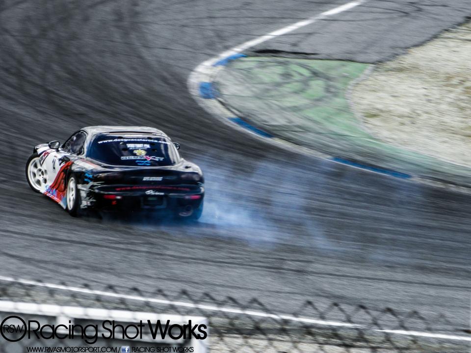 Mazda RX7 FD3S, Fran dengra drift in jarama circuit madrid