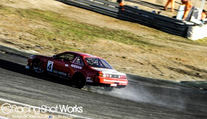 Arnau Gomez Nissan s14a rb25 drift in jarama circuit madrid