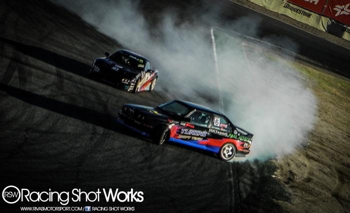 Oscar Lopez E30 and Fran Dengra RX/ FD3S