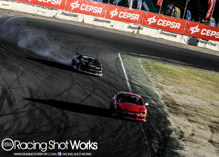 Arnau and Atila runing on his S14 drift in jarama circuit madrid