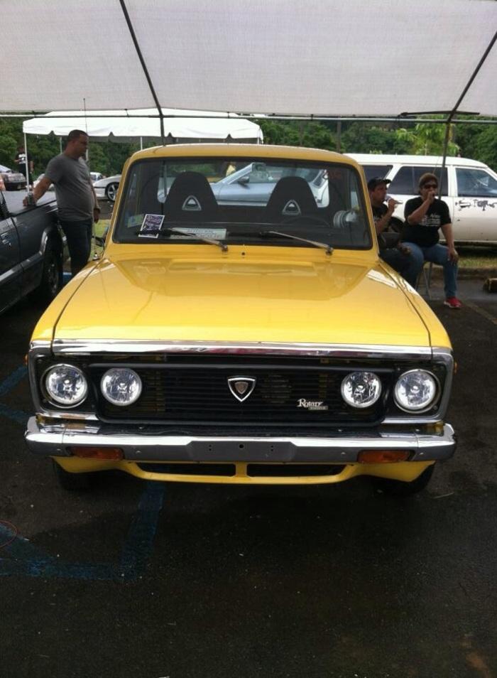 Mada rotary engine pick up puerto rico PR fiebru amarillo