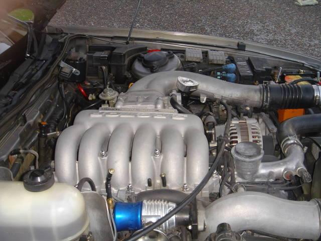 Engine bay: 20B-REW